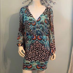 NEW Bebe Hand Embellished Dress